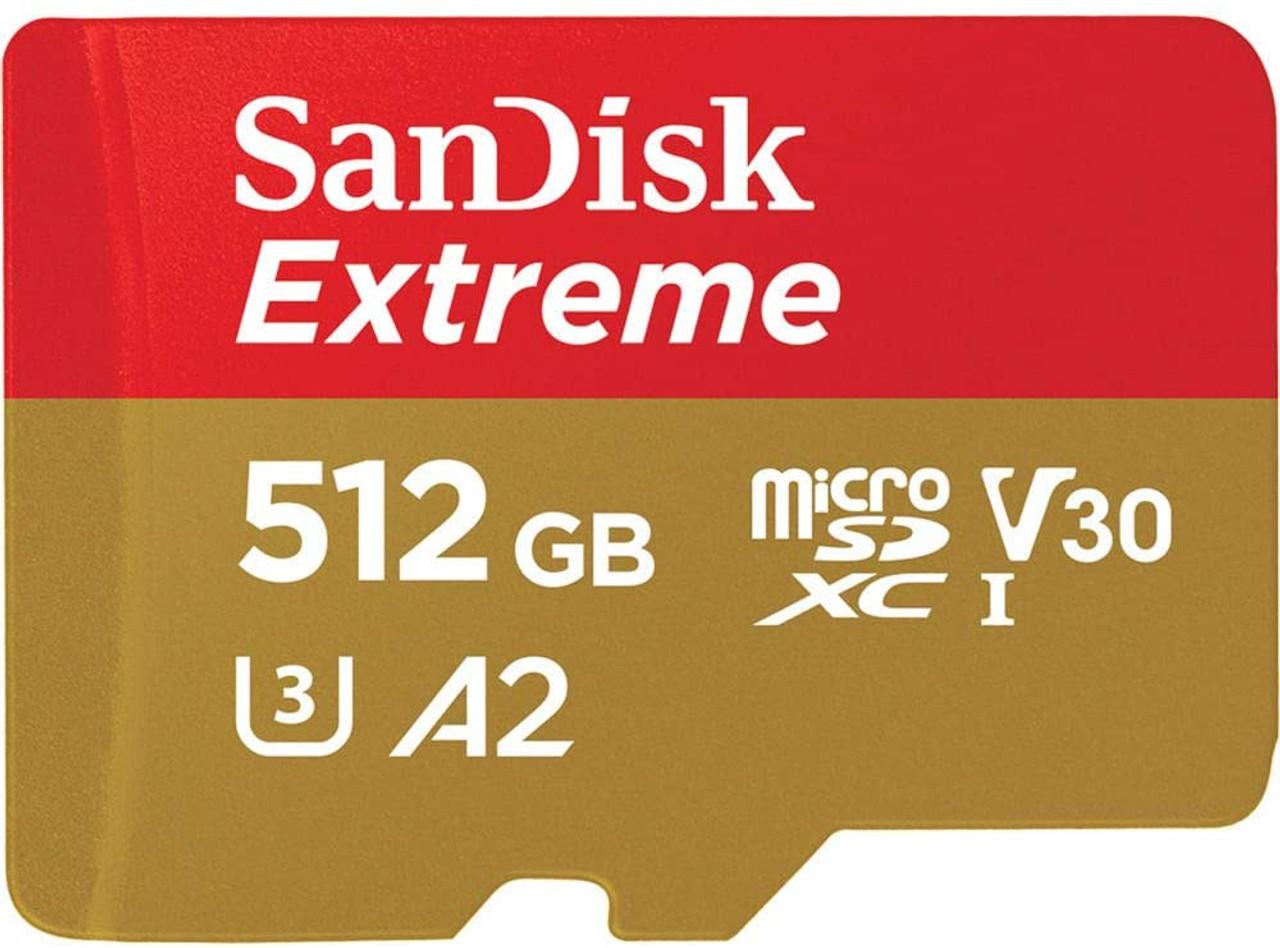 SANDISK MICROSDXC EXTREME UHS-I (512GB)