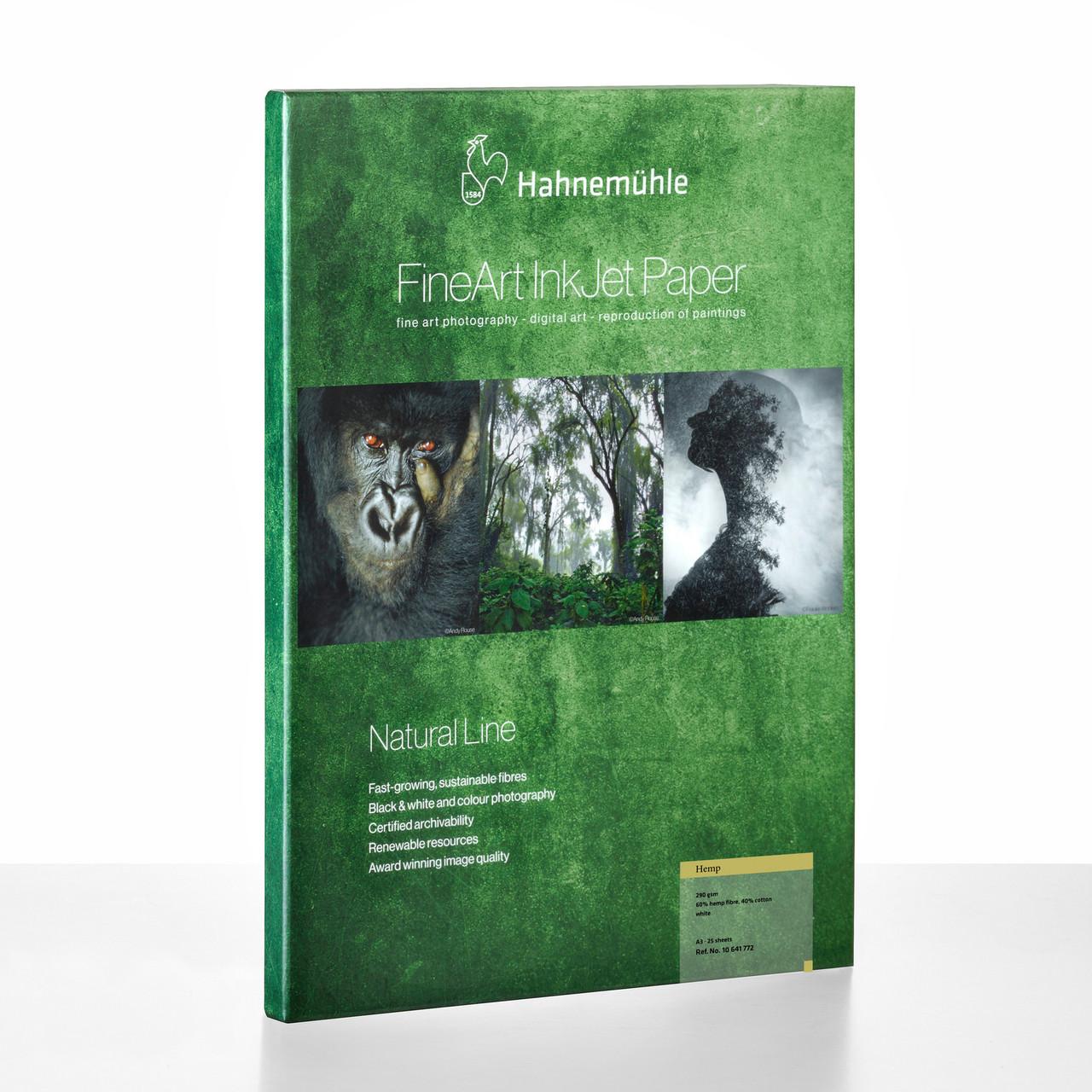 HAHNEMUHLE NATURAL LINE PAPER - HEMP (25 SHEETS)