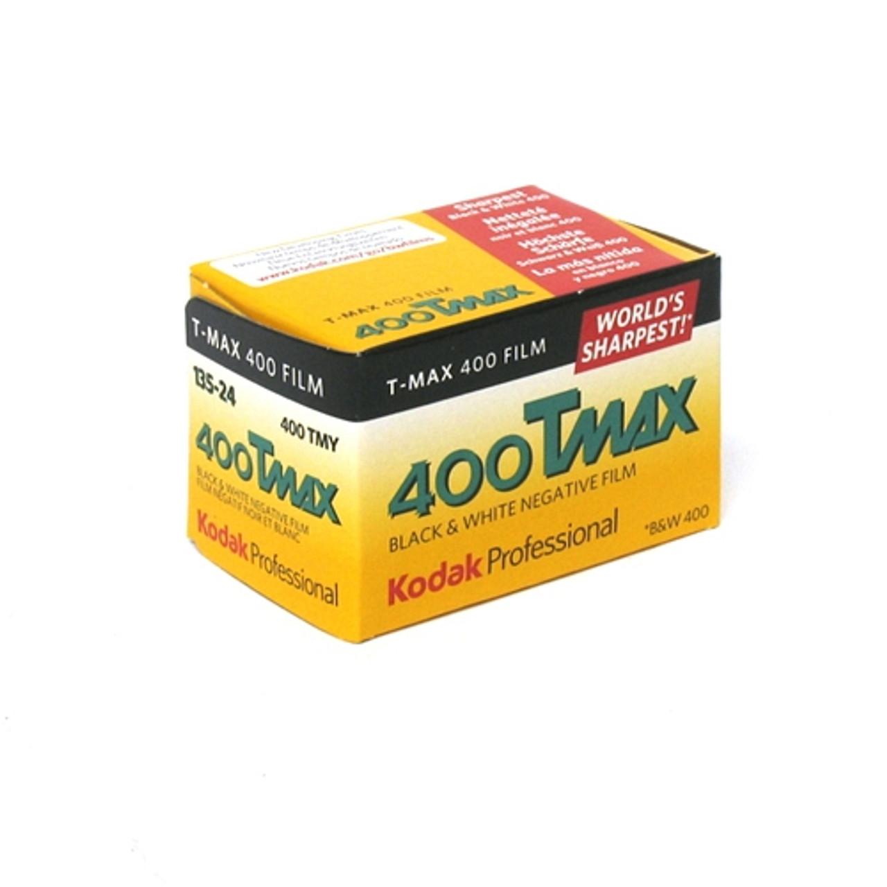 KODAK T-MAX 400 BLACK & WHITE FILM