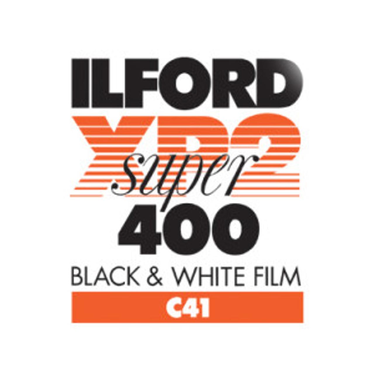 ILFORD XP2 SUPER BLACK & WHITE FILM