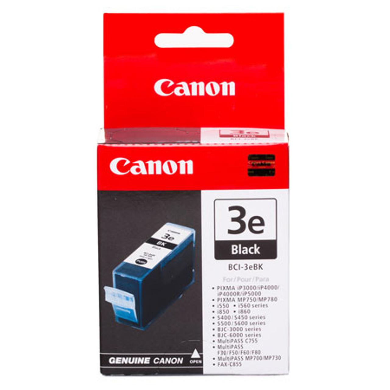 CANON BCI-3E - BLACK INK TANK