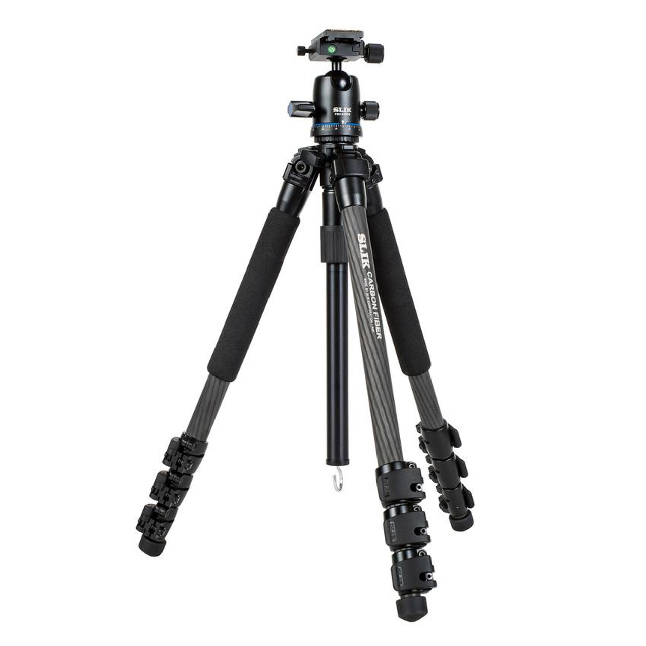 SLIK PRO 724 CARBON FIBER TRIPOD W/ BALL HEAD