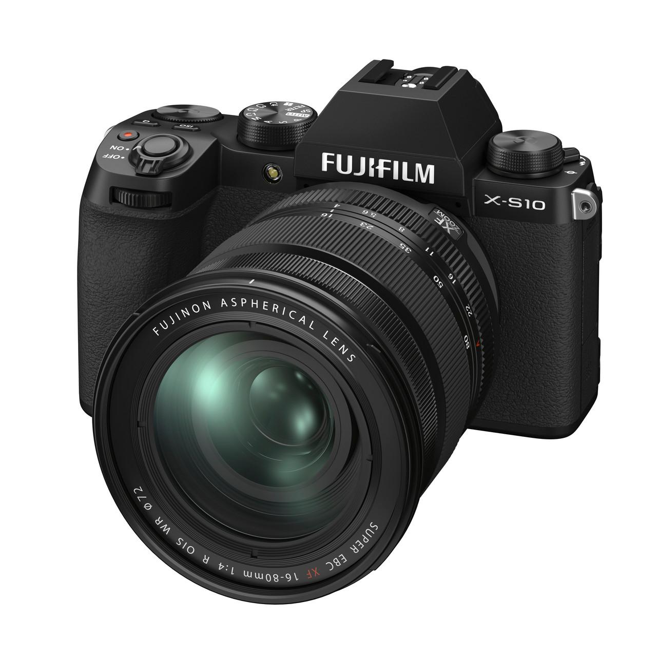 FUJI X-S10 W/XF16-80MM F4 KIT
