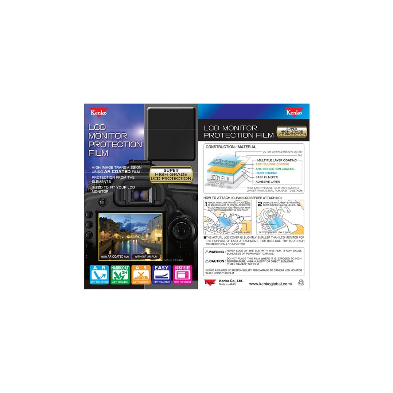 KENKO LCD SCREEN PROTECTOR - NIKON D3000