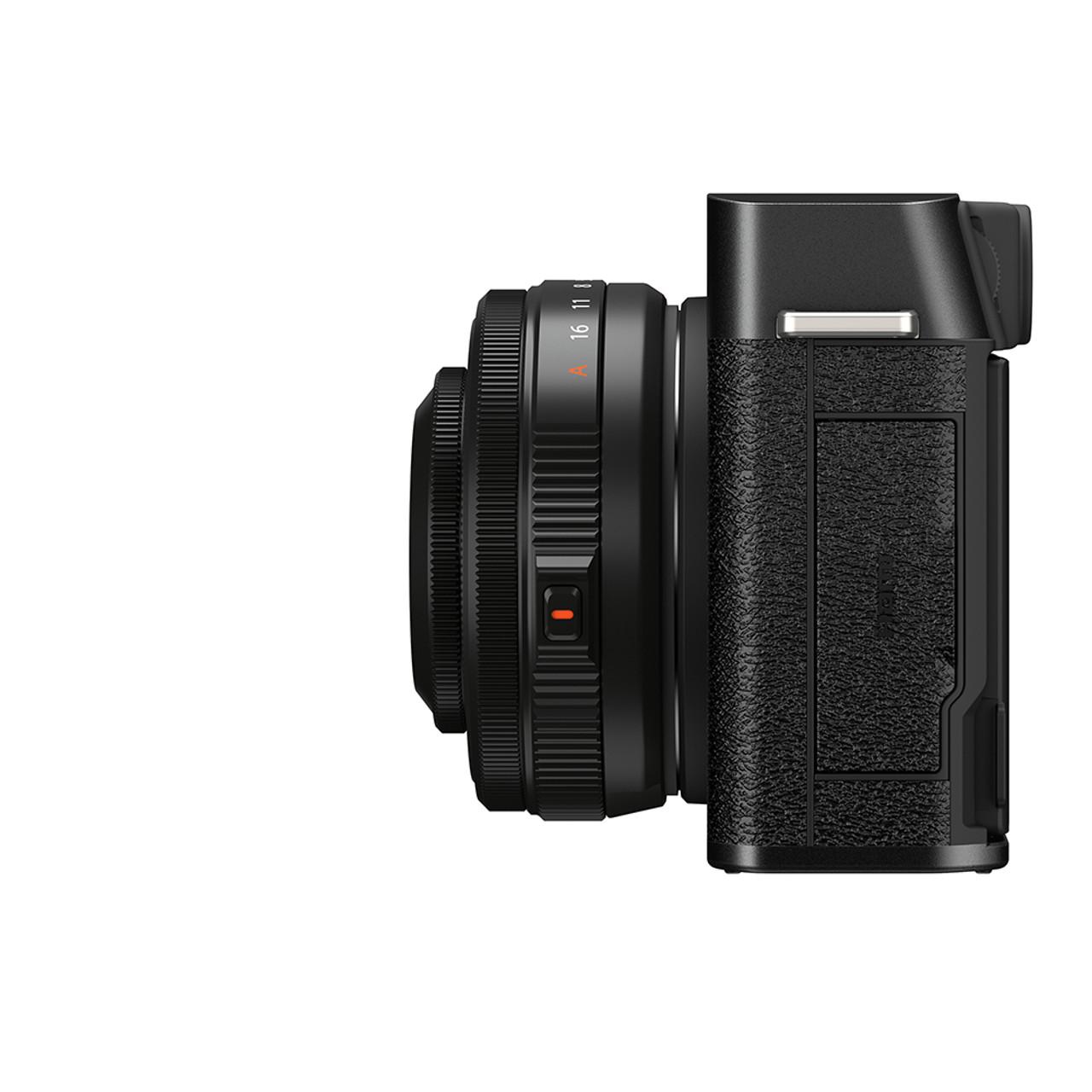 FUJIFILM X-E4 XF 27MM F2.8 R WR KIT (BLACK)