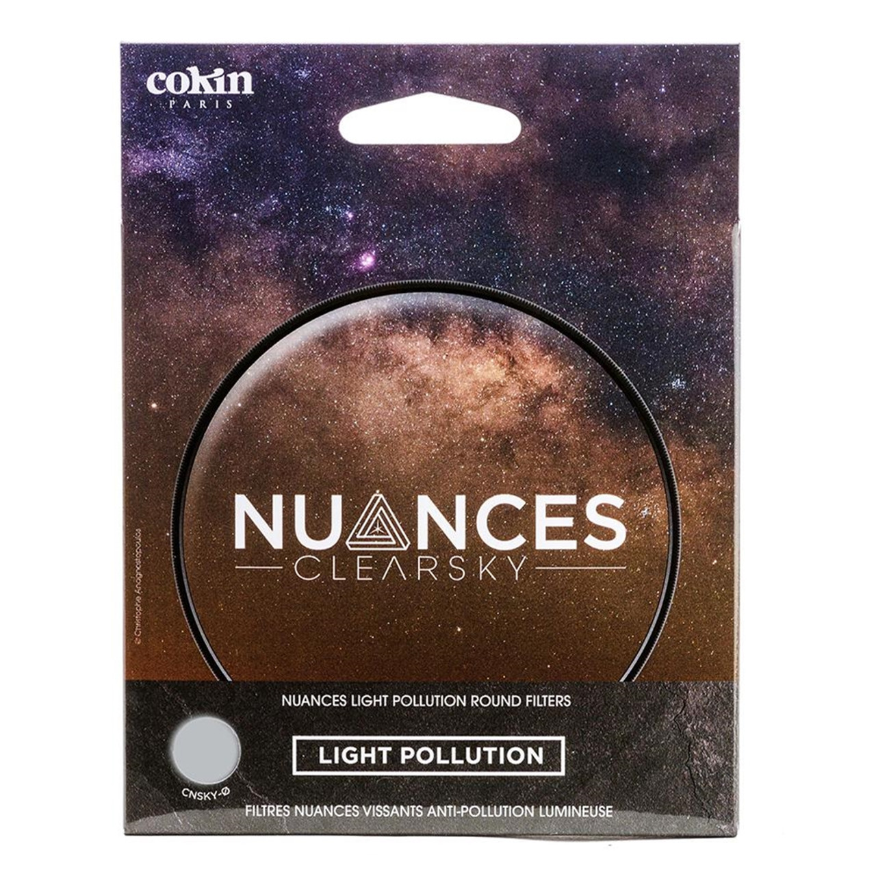COKIN NUANCES CLEARSKY LIGHT POLLUTION FILTER (52MM)