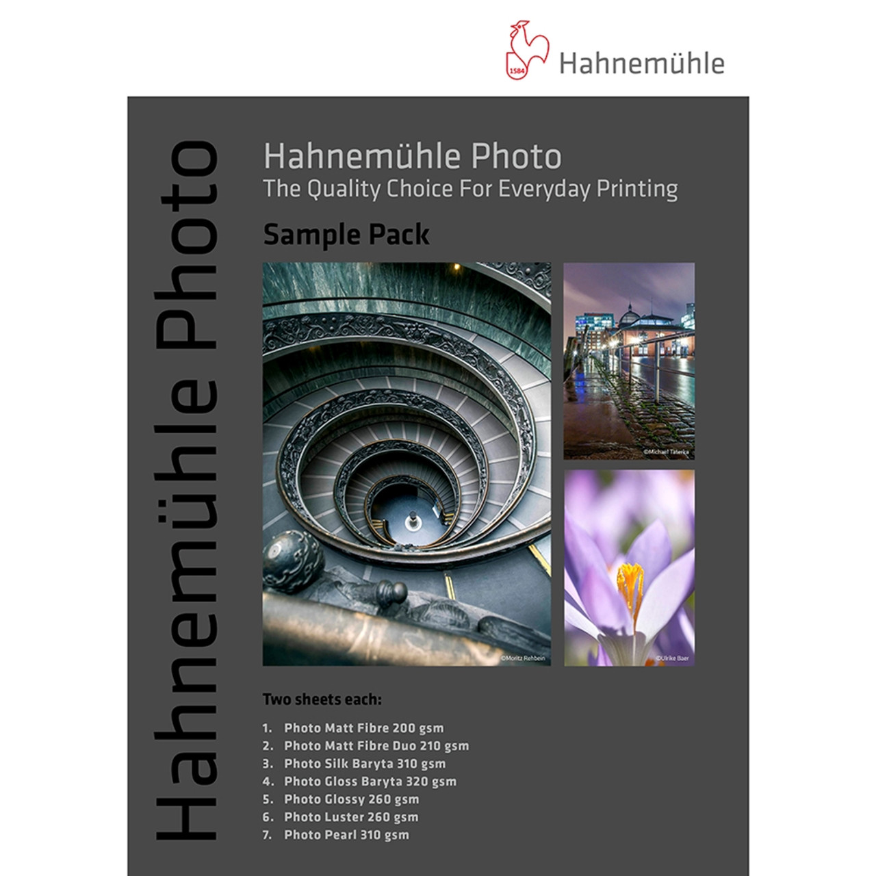 HAHNEMUHLE PHOTO SAMPLE PACKS