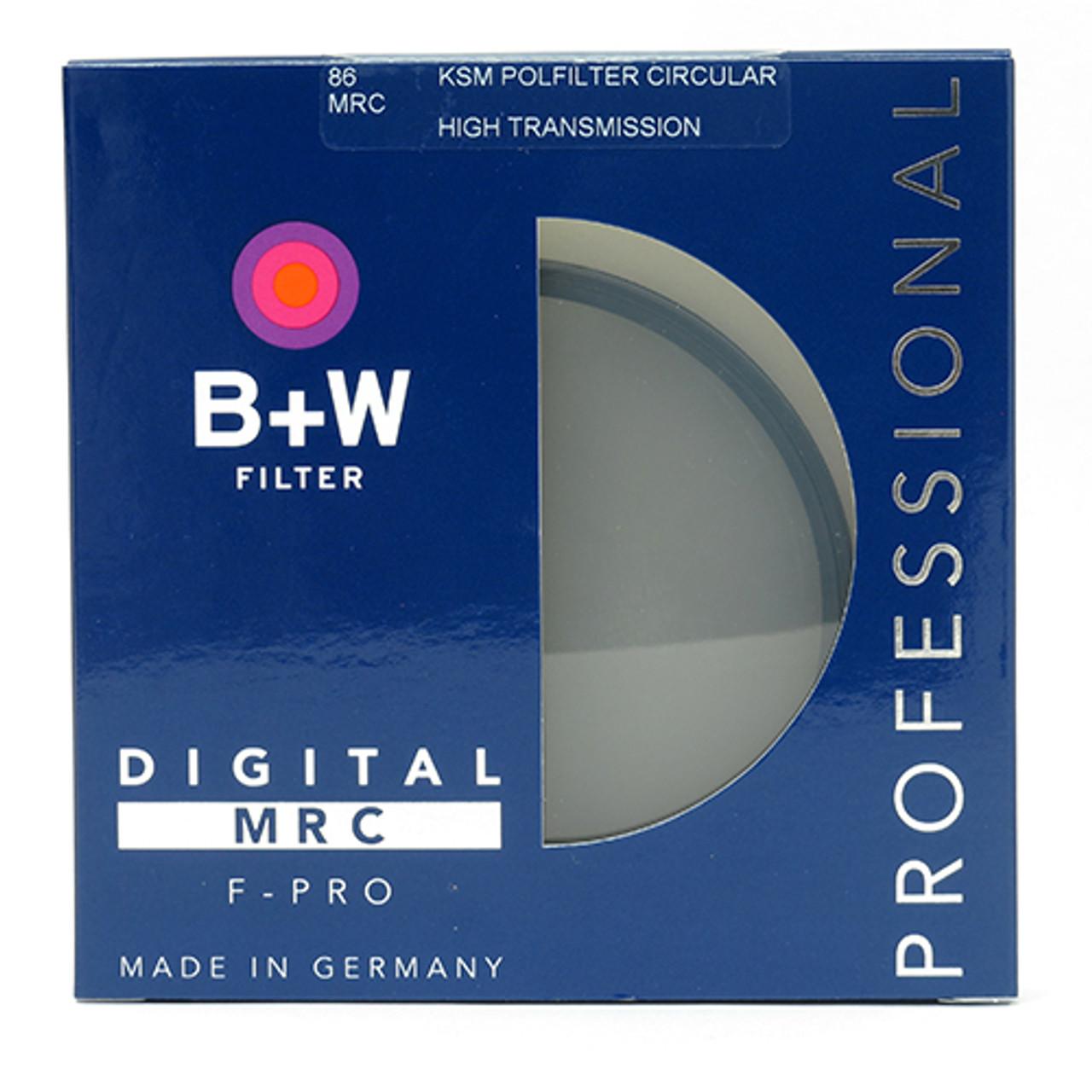 B+W KAESEMANN CIRCULAR POLARIZER HTC (86MM)