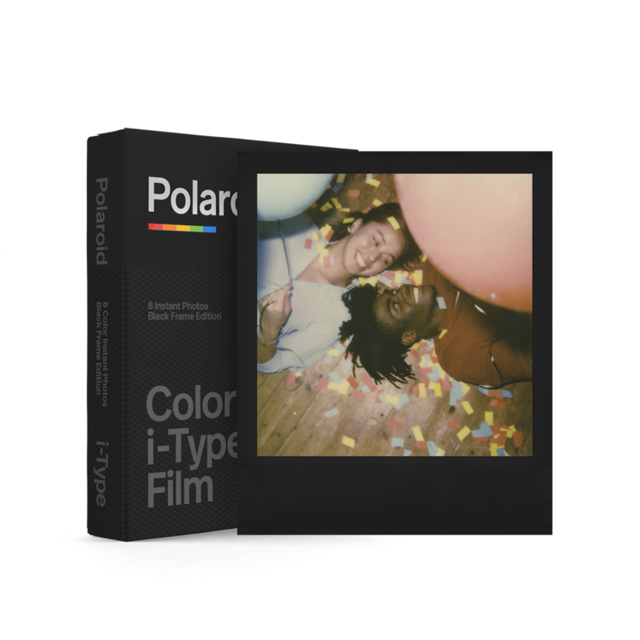 POLAROID I-TYPE FILM - COLOR W/BLACK FRAME