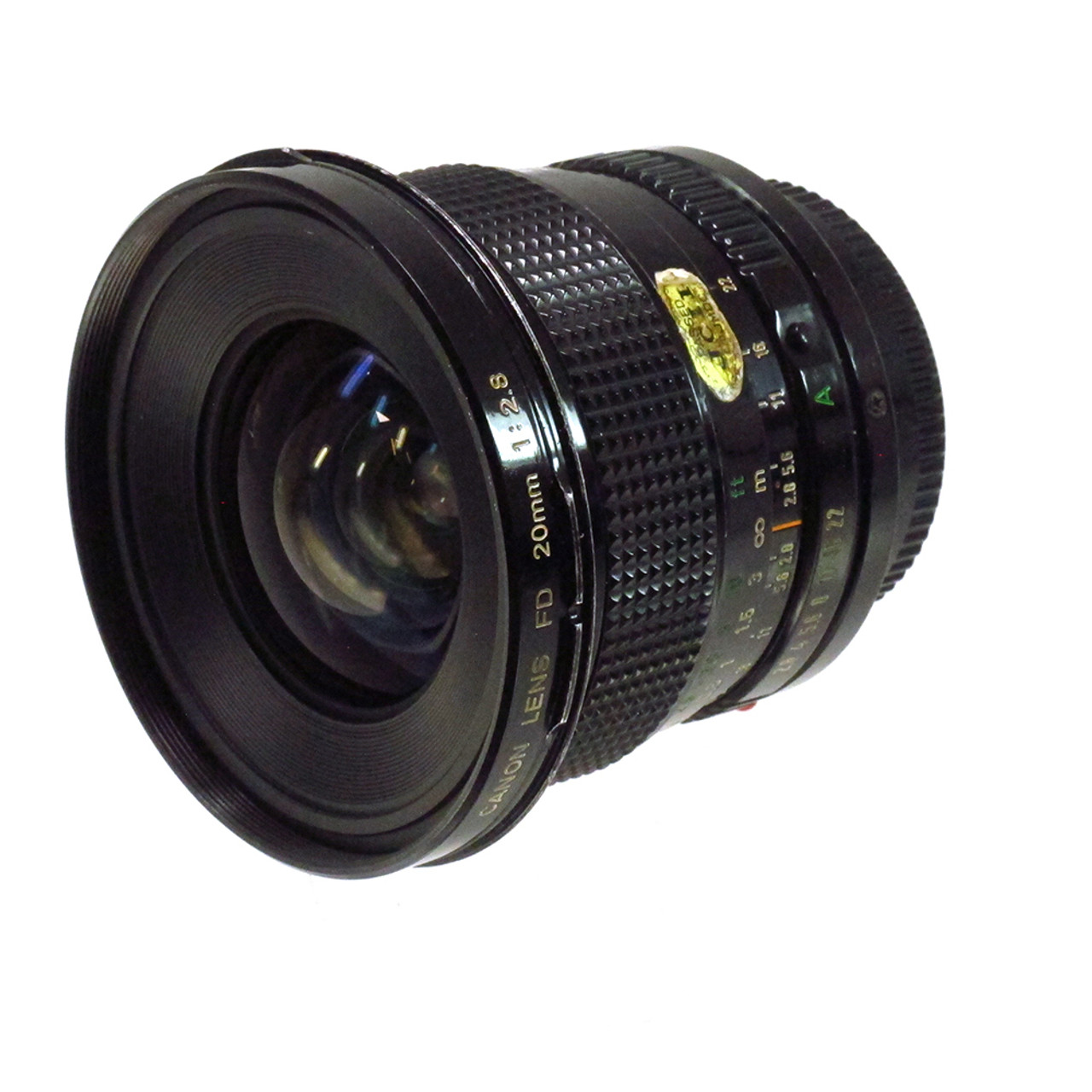 USED CANON FD 20MM F2.8