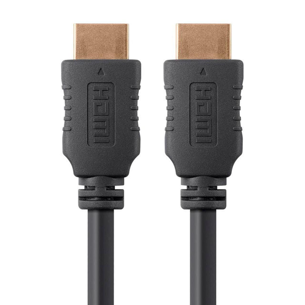 4K HIGH SPEED HDMI 3FT BLACK