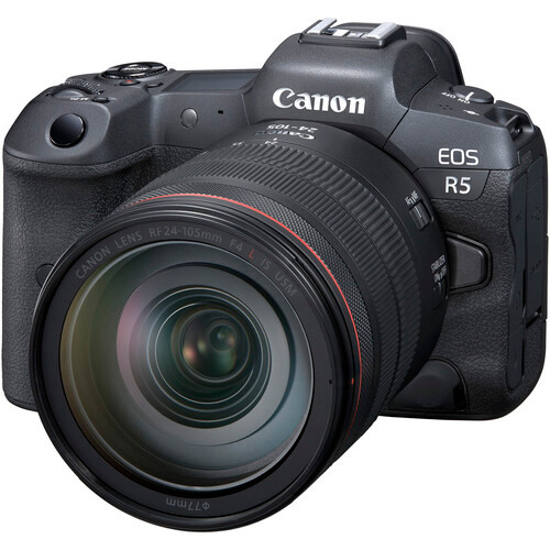CANON EOS R5 W/RF 24-105MM F4 L IS KIT