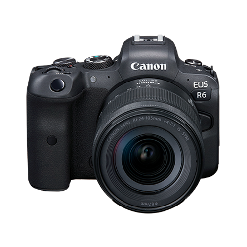CANON EOS R6 W/RF 24-105MM F4-7.1 IS STM KIT