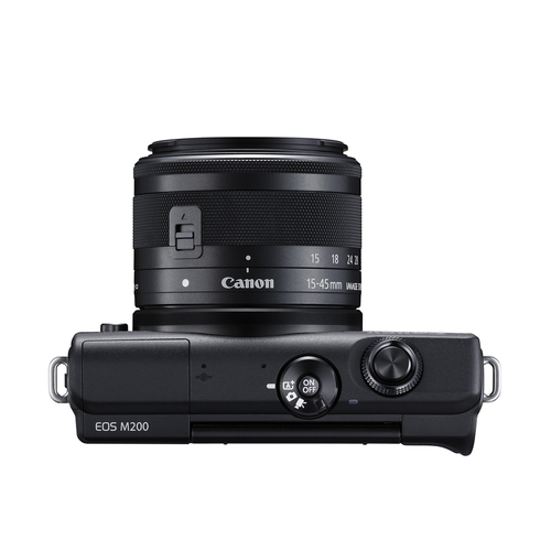 CANON EOS M200 15-45MM IS STM EF-M KIT (BLACK)