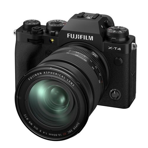 FUJIFILM X-T4 XF 16-80MM F/4 KIT (BLACK)