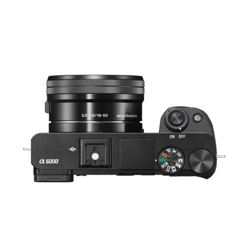 SONY A6000 16-50MM KIT (BLACK)