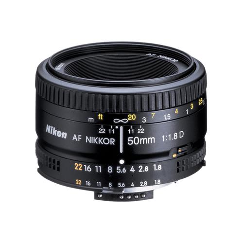 NIKON AF-D 50MM F/1.8 (FX)