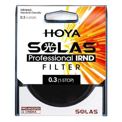 HOYA SOLAS IRND NEUTRAL DENSITY FILTERS  0.3 (1-STOP)