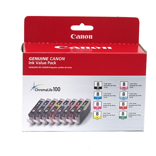 CANON CLI- 8 8-COLOR PACK