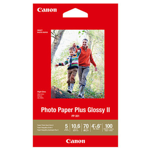 CANON PHOTO PAPER PLUS SEMI-GLOSS ( 8.5X11 - 50 SHEETS)