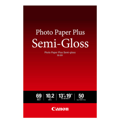 CANON PHOTO PAPER PLUS SEMI-GLOSS (13X19 - 50 SHEETS)