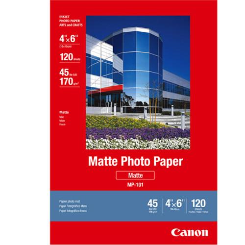 CANON PHOTO PAPER MATTE (4X6 - 120 SHEETS)