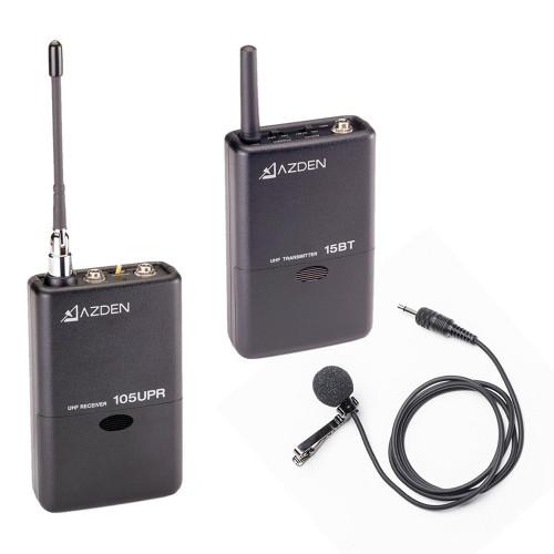 AZDEN 105LT UHF CAMERA MOUNT WIRELESS SYSTEM