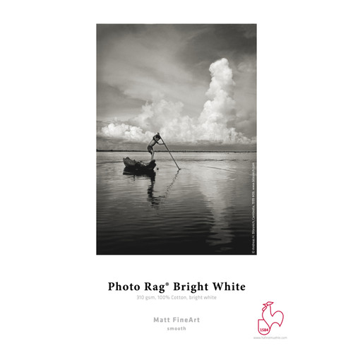 HAHNEMÜHLE FINEART PHOTO PAPER - RAG BRIGHT WHITE (25 SHEETS)
