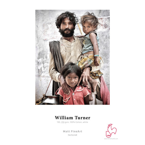 HAHNEMÜHLE WILLIAM TURNER MATT FINE ART PAPER (25 SHEETS)