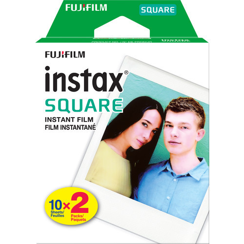 FUJIFILM INSTAX SQUARE - TWIN PACK