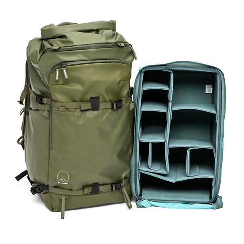 SHIMODA ACTION X70 BACKPACK STARTER KIT WITH X-LARGE DV CORE UNIT (ARMY GREEN)