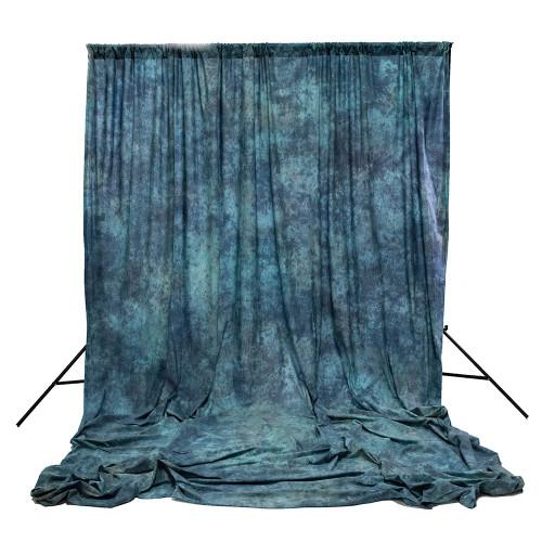 SAVAGE CRUSH-DYE MUSLIN - APEX BLUE
