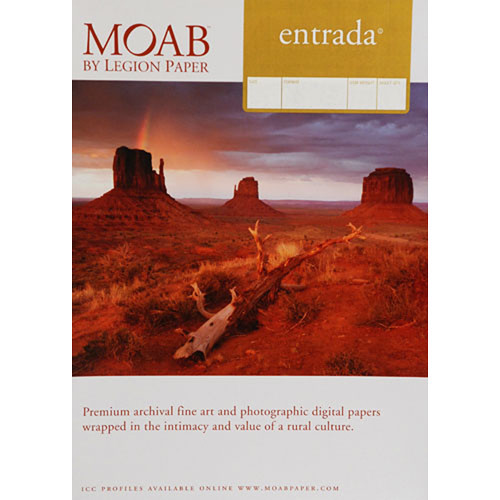 MOAB ENTRADA RAG NATURAL 300 (25 SHEETS)