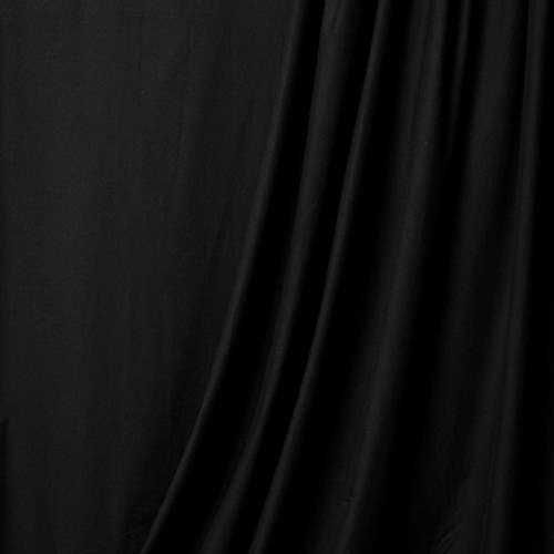 SUPERIOR MUSLIN BACKGROUND - BLACK