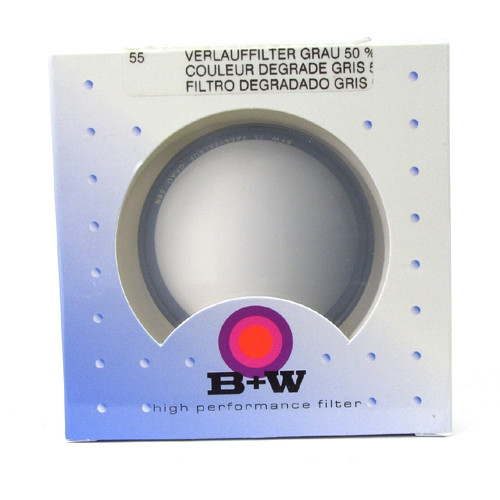 B+W NEUTRAL DENSITY GRADUATED 501 (1-STOP)(55MM)