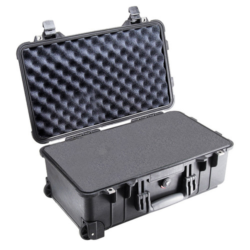 PELICAN 1510 PROTECTOR ROLLING CASE WITH FOAM INSERT