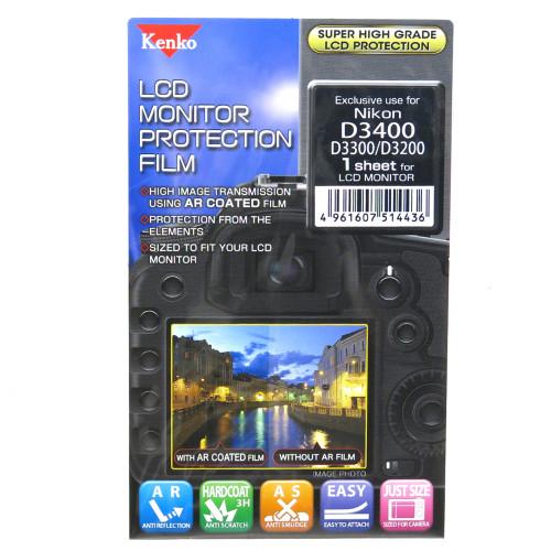 KENKO LCD SCREEN PROTECTOR - NIKON D3400/3300
