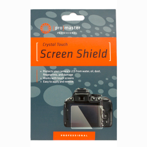 PROMASTER CRYSTAL TOUCH SCREEN SHIELD (D5600 / D5500 / D5400)