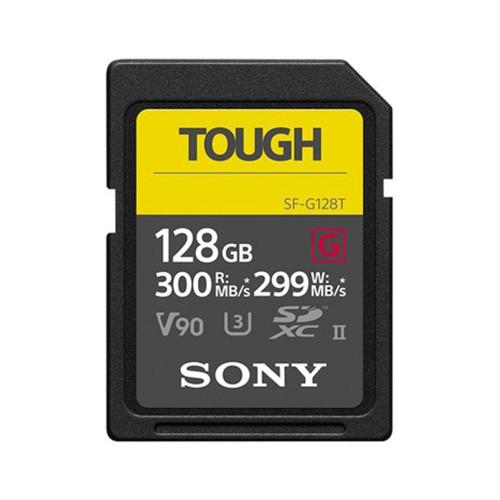 SONY SDXC SF-G TOUGH  UHS-II MEMORY CARD (300MB/S)(128GB)