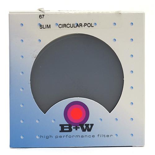 B+W CIRCULAR POLARIZER - SLIM (67MM)