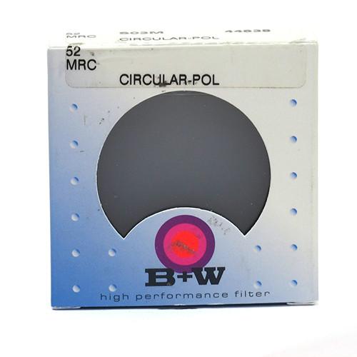 B+W CIRCULAR POLARIZER MRC (52MM)