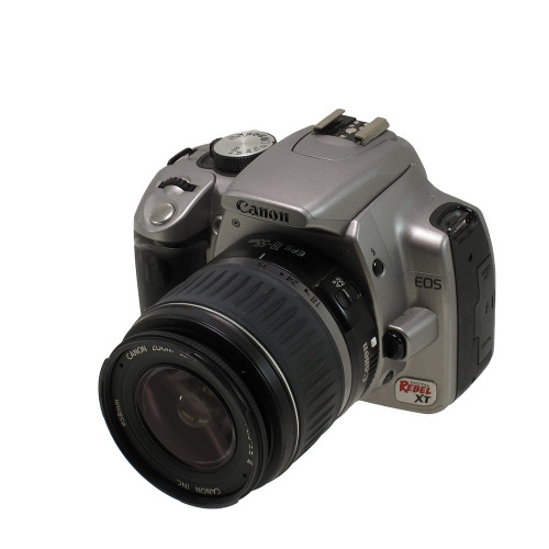 USED CANON EOS REBEL XT W/18-55MM