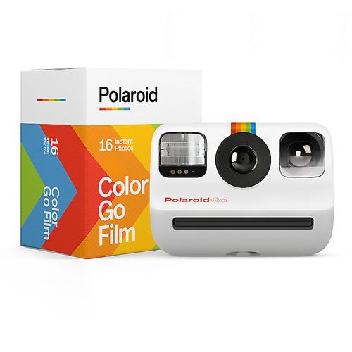 POLAROID GO STARTER SET - CAMERA & FILM (WHITE)