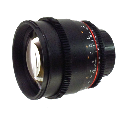 USED ROKINON T 85MM F1.5 CINE