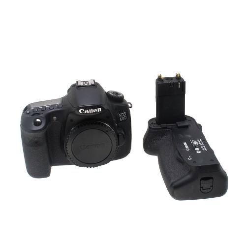 USED CANON EOS 60D W/BG-E9