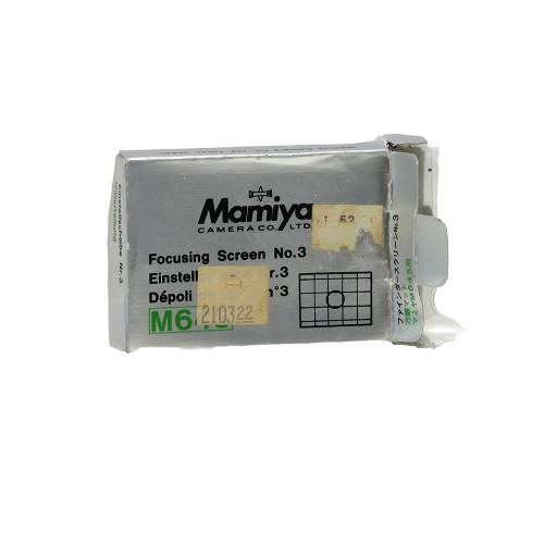 USED MAMIYA 645 FOCUS SCREEN #3