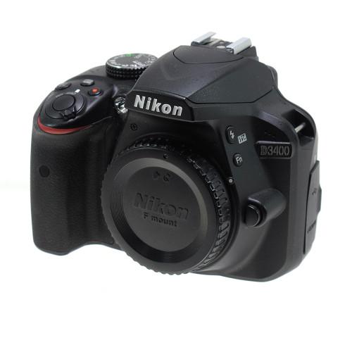 USED NIKON D3400