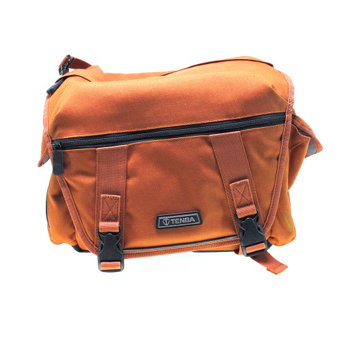 USED TENBA SHOULDER BAG ORANGE