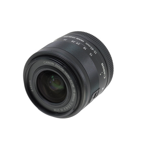 USED CANON EF-M 15-45MM F3.5-6.3