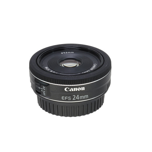 USED CANON EF-S 24MM F2.8 STM (738771)